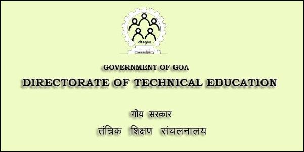 DTE Goa Diploma Time Table