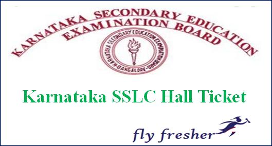Karnataka SSLC Hall Ticket, KSEEB 10th Class Admit Card, Karnata SSLC Admit card