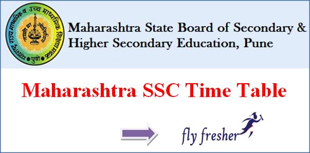 Maharashtra Board SSC Time Table, MHA Class 10 Time Table, Maharashtra 10th date sheet, Maharashtra SSC Date Sheet