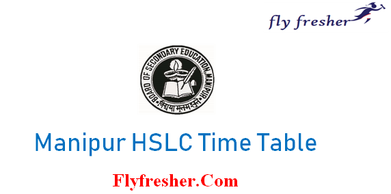 Manipur Board HSLC Time Table, BSEM HSLC Date Sheet, Manipur class 10 time table