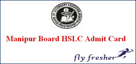 Manipur HSLC Admit Card, BSEM Class 10th Hall Ticket, Manipur 10th hall ticket, BSEM HSLC hall ticket