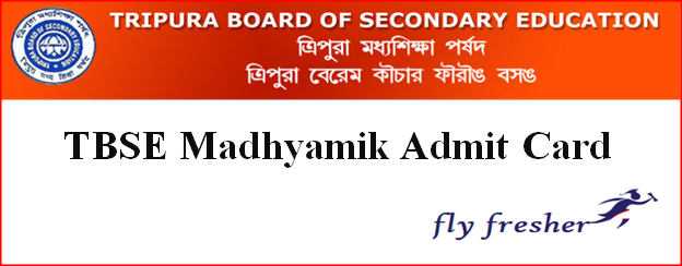TBSE Madhyamik Admit Card, Tripura Board 10th Hall Ticket PDF, TBSE 10th admit card, Tripura Madhyamik admit card