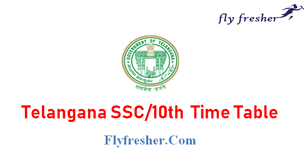 TS SSC Time Table, Telangana State 10th Class Exam Date Sheet, Telangana 10th Time Table
